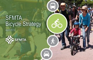 Cover image from the SFMTA Bicycle Strategy document.