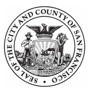 Seal of the City and County of San Francisco. Links to the City and County of San Francisco's website.